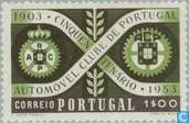 Timbres-poste - Portugal [PRT] - club automobile de 50 ans