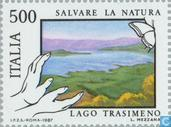 Postage Stamps - Italy [ITA] - Lakes and rivers