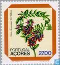 Timbres-poste - Açores - Fleurs