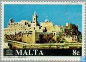 Briefmarken - Malta - Restaurierungsarbeiten