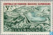 Timbres-poste - Luxembourg - Reservoir Vianden