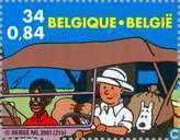 Postzegels - België [BEL] - Kuifje