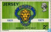 Briefmarken - Jersey - British Legion 50 Jahre