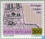Postzegels - Vaticaanstad - Wereldreizen Paus Johannes Paulus II