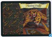 Trading cards - Harry Potter 4) Adventures at Hogwarts - Meeting Fluffy