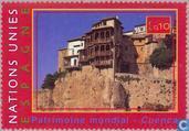 Timbres-poste - Nations unies - Genève - Espagne du patrimoine mondial