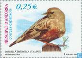 Postzegels - Andorra - Spaans - Vogels