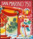Postzegels - San Marino - Kerstmis