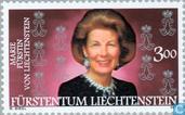 Postage Stamps - Liechtenstein - Vostin Marie