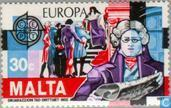 Postage Stamps - Malta - Europa – Historical events
