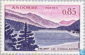 Postage Stamps - Andorra - French - Landscapes