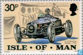 Timbres-poste - Man - Les voitures classiques