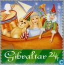 Postzegels - Gibraltar - Kerstman