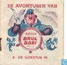 Strips - Kapitein Brul Boei - De woestijn in
