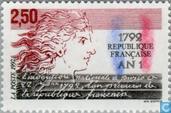 Timbres-poste - France [FRA] - Instauration du calendrier révolutionnaire