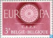 Postage Stamps - Belgium [BEL] - Europe – Spoked Wheel