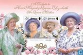 Postage Stamps - Jersey - Queen Elizabeth-100th anniversary