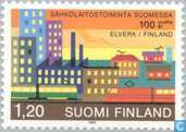 Postage Stamps - Finland - 100 years of power stations