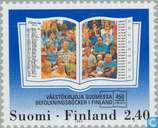 Postage Stamps - Finland - 450 years Population