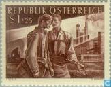 Briefmarken - Österreich [AUT] - Zurück