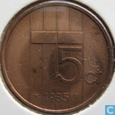 Coins - the Netherlands - Netherlands 5 cents 1985