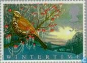Postage Stamps - Great Britain [GBR] - The four seasons- Winter
