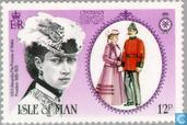 Briefmarken - Man - Family Force Association 1885-1985