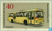 Briefmarken - Berlin - Berliner Verkehrsmittel, Omnibusse