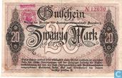 Banknoten  - Annaberg - Amtshauptmannschaft - Annaberg 20 Mark