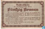 Bankbiljetten - Wien - Stadtgemeinde - Wien 50 Kronen 1918