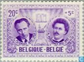 Postage Stamps - Belgium [BEL] - Famous People