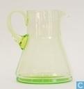 Glas / kristal - Kristalunie - Libel Waterstel vert-chine