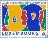 Postage Stamps - Luxembourg - European year of languages