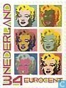 Timbres-poste - Pays-Bas [NLD] - Andy Warhol