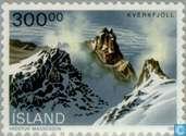 Timbres-poste - Islande - Paysages