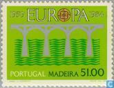 Briefmarken - Madeira - Europa – Brücke