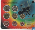 Coins - Spain - Spain mint set 2004