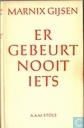 Boeken - Goris, Jan-Albert - Er gebeurt nooit iets