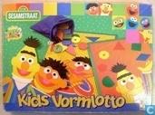 Board games - Lotto (plaatjes) - Sesamstraat  - Vormlotto