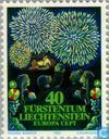 Postzegels - Liechtenstein - Europa – Folklore