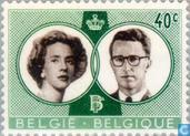 Postage Stamps - Belgium [BEL] - Marriage King Baudouin and Fabiola