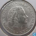 Monnaies - Pays-Bas - Pays Bas 1 gulden 1956