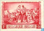 Postage Stamps - Belgium [BEL] - For the war victims