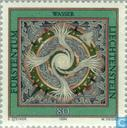 Postage Stamps - Liechtenstein - The Four Elements