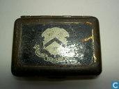Boîtes en métal - Boîte à tabac à priser - snuifdoosje