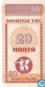 Banknotes - Mongolbank - Mongolia 20 Mongo