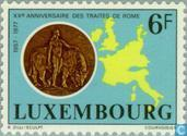 Postage Stamps - Luxembourg - 20 years Treaty of Rome