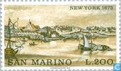 Postage Stamps - San Marino - Famous cities-New York