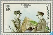 Postage Stamps - Gibraltar - Europe – Historical events