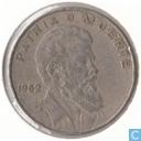 """Cuba 40 centavos 1962 """"Camilo Cienfuegos Gornaran"""""""